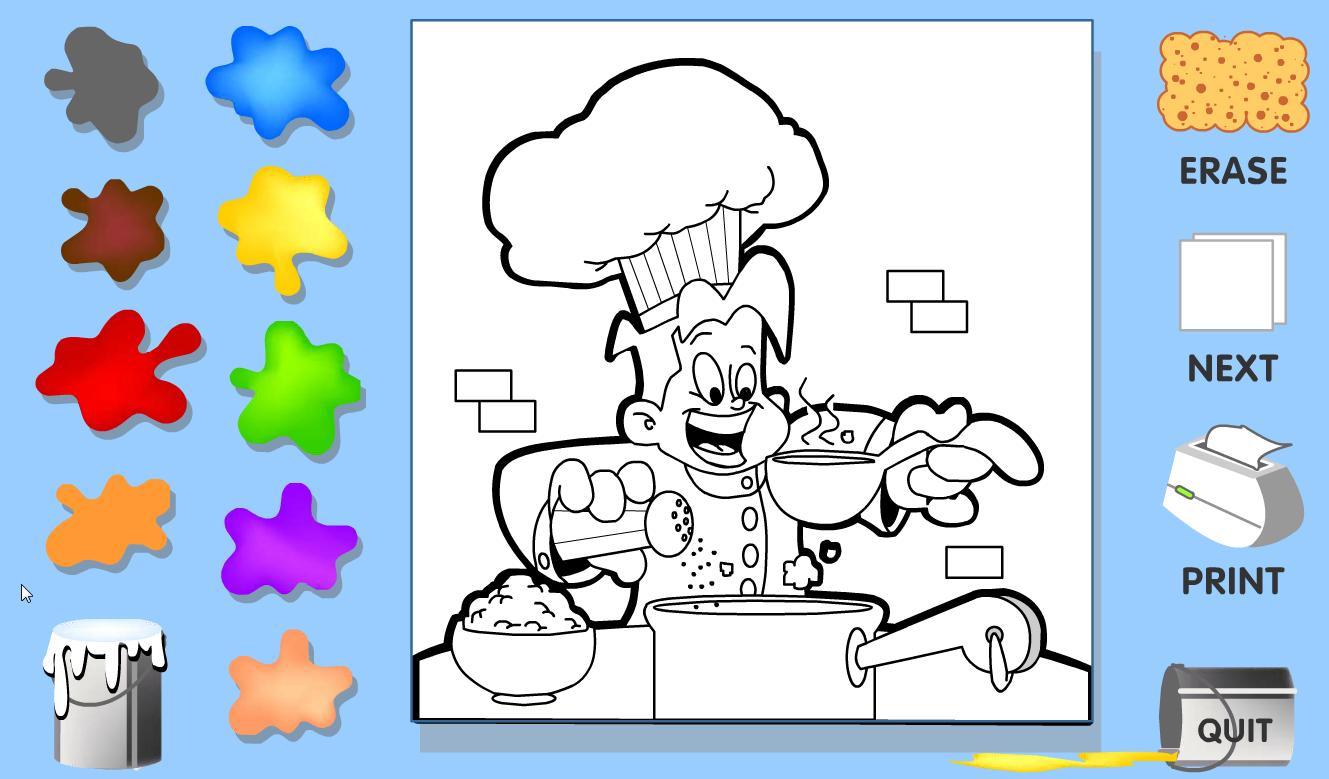 Juegos Para Colorear Recurso Educativo 43513 Tiching