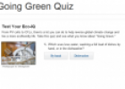 Going Green (quiz) | Recurso educativo 23093