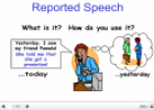 Reported Speech | Recurso educativo 24087