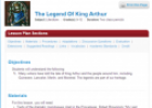 The legend Of King Arthur | Recurso educativo 70235