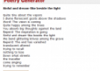 Poetry generator | Recurso educativo 74056