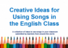 Creative ideas for using songs - Google Docs | Recurso educativo 75340