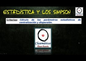 (Estadística) La Estadística y los Simpson | Recurso educativo 107787