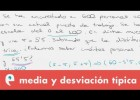 Estadística: media y desviación típica | Recurso educativo 109506