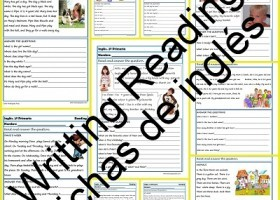 Fichas de inglés Segundo Primaria: Reading-Writting | Recurso educativo 404143
