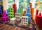 Miniature city made with shoe boxes. | Recurso educativo 767539