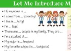LET ME INTRODUCE ME | Recurso educativo 780029