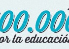 500.000 por la educación